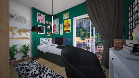 Real Bedroom in Athens - Modern - Bedroom  - by Vaggelis21