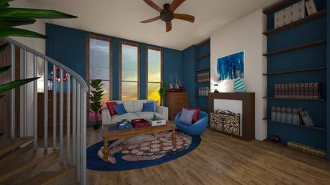 Nautical living room - Vintage - Living room - by kristianvalchev