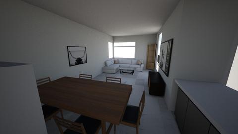 Salon_2 - Living room  - by krystek
