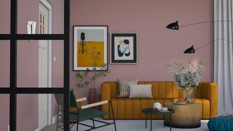 Modern Space - Modern - Living room - by HenkRetro1960