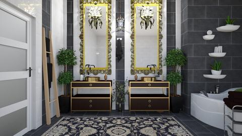 Art Deco Bathroom - Bathroom  - by matina1976