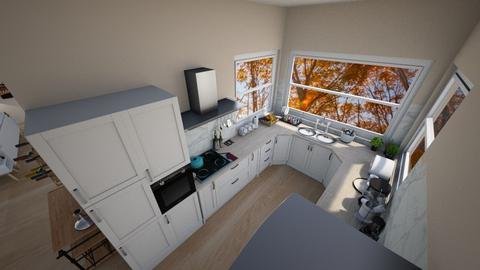 family home 192 - Modern - Kitchen - by Stavroula Chatzina