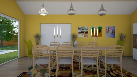 RH - Dining room - by MariaMunoz