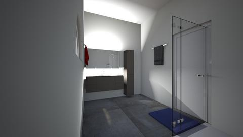Living room  - Bathroom  - by Acke