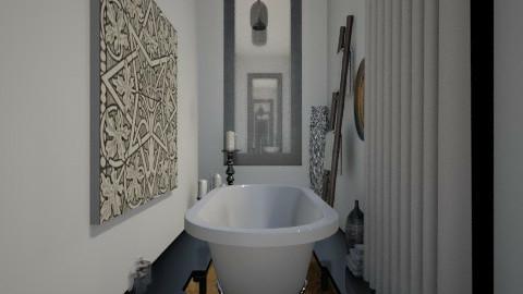 Sunken Bath - Glamour - Bathroom  - by Varsha Liston