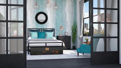 TM Bedroom - Bedroom  - by Lizzy0715