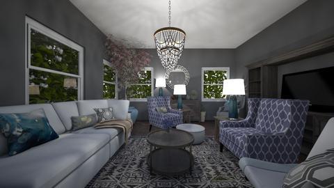 living room 3 - Rustic - Living room  - by MekhiKalaukoa