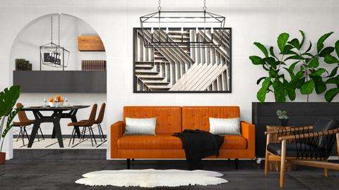 Minimalistic Industrial - Minimal - Living room - by millerfam