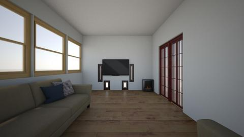 tv room option 3 - Living room  - by solot
