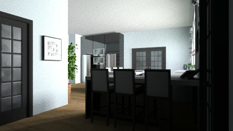 Kitchen3 - Eclectic - Kitchen  - by ChantelledoRo