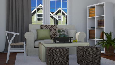 Suburban Living - Modern - Living room  - by stephendesign