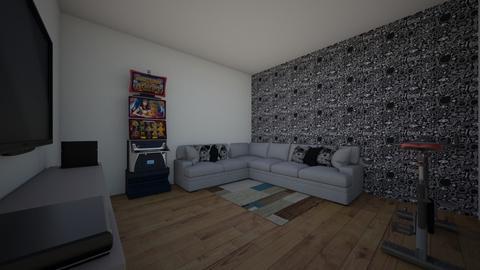 The Gamer  - Living room  - by theIrishdog