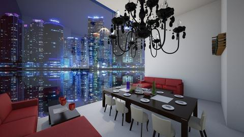 City Banquet - Glamour - Dining room  - by deleted_1609868595_bleeding star