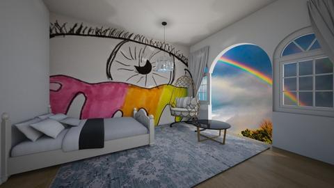 Creative spirit - Minimal - Bedroom  - by kiwimelon711