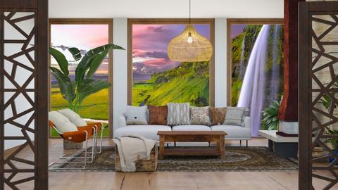Organic Living - Living room  - by Feeny