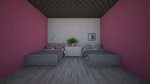 bedroom  - Modern - Bedroom  - by sweatitoff