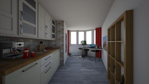 Plan Bucatarie v1 - Modern - Kitchen - by krokswell