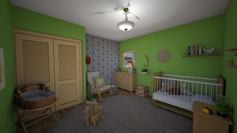 Fawn Bedroom - Kids room - by chocolatedonut71