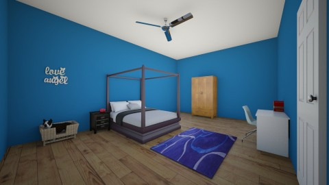 Dream Room - Bedroom - by Mia Rosso