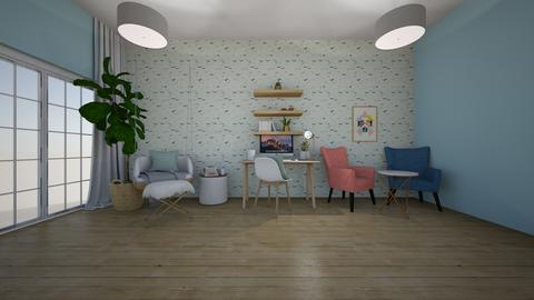 Modern Playful Office Remix - Office - by mydreamjob25