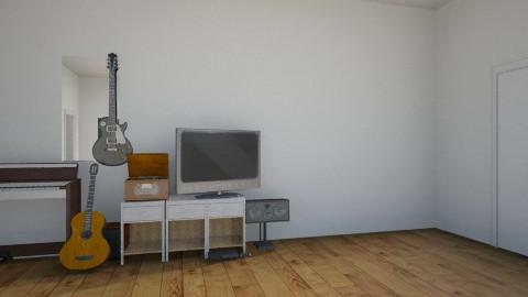 Studio apt - Minimal - by SweetSassafrasy