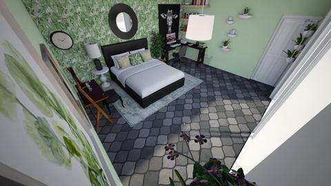 tree leaves - Bedroom  - by victoriakandy