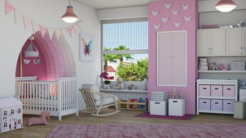 PINK - Kids room  - by LB1981
