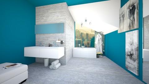 luxury bathroom - Modern - by newyork4everloved