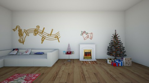 in the mood of xmas - Living room - by kiwi_gymnast11