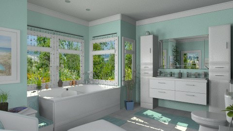 Bathroom for Martha - Modern - Bathroom  - by Bibiche