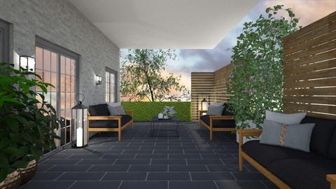 Small living patio - Garden  - by Ontwerpstudio34