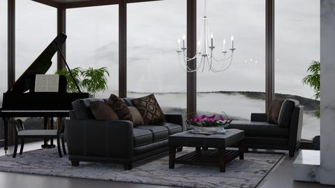 Chocolate Clouds - Living room  - by millerfam