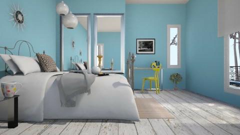Meri  - Feminine - Bedroom  - by SariJo