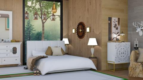Bedroom  - Modern - Bedroom  - by malithu damsath