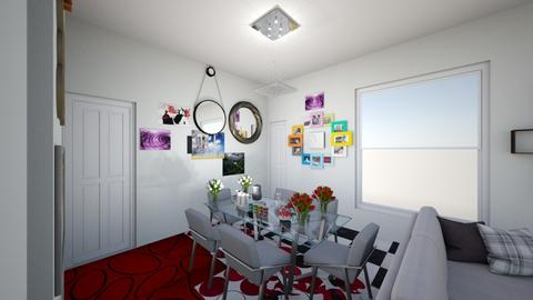 KITCHEN LIVIN ROOM - Modern - Living room  - by irfanaslam