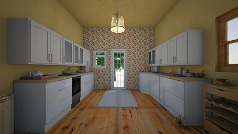 flower kitchen - Kitchen - by eloy173