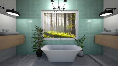 chique oasis - Bathroom  - by geeala