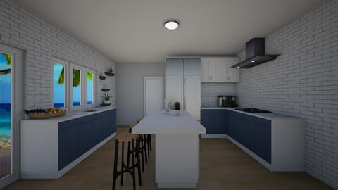 Sea kitchen - Kitchen  - by KathyScott