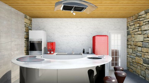 kitchen2 - Retro - by Ali Akbar Bourji