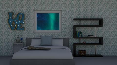 Arctic Bedroom - Bedroom  - by Jahsoftball_