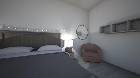 bedroom - by hazel breen
