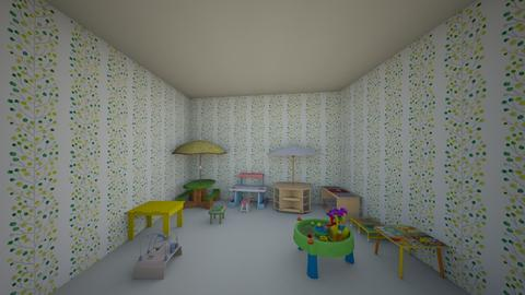 cuarto de bebes  - Classic - Kids room  - by isal