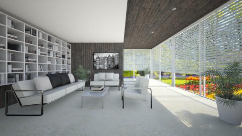 RichardNeutra001 - Living room - by Ivana J