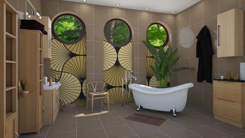 art bathroom - by ilcsi1860