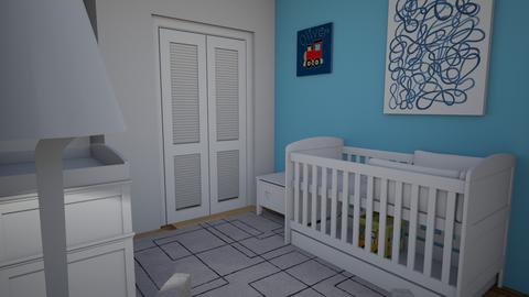 Nursery Example Blue OPP - Kids room  - by mgeiger