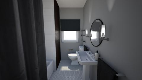 Sherwood Bathroom - Modern - Bathroom - by Steph Snape Designs