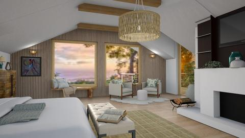 Attic Bedroom - Bedroom  - by islandvibz