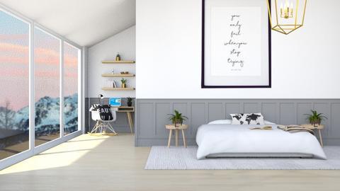 for kittykat28  - Modern - Bedroom  - by Thepanneledroom