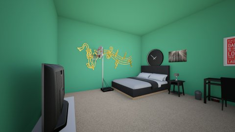 Lang Arts Dream Room - Bedroom - by SugerCane