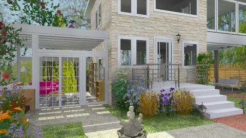 Frontyard - Modern - Garden  - by Bibiche
